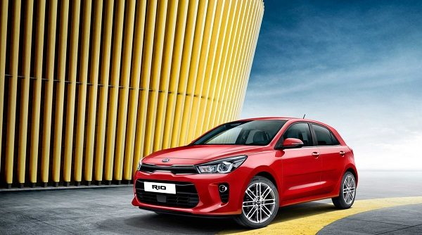 So aggressive looks the new Kia Rio in these first official pictures