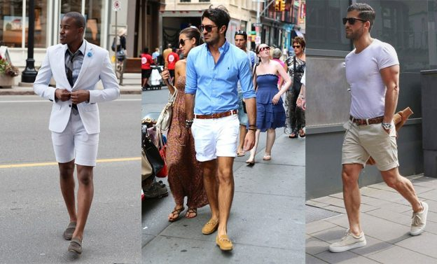 What to wear with shorts?